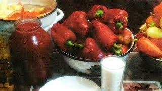 Лечо-перец в томатном соусе