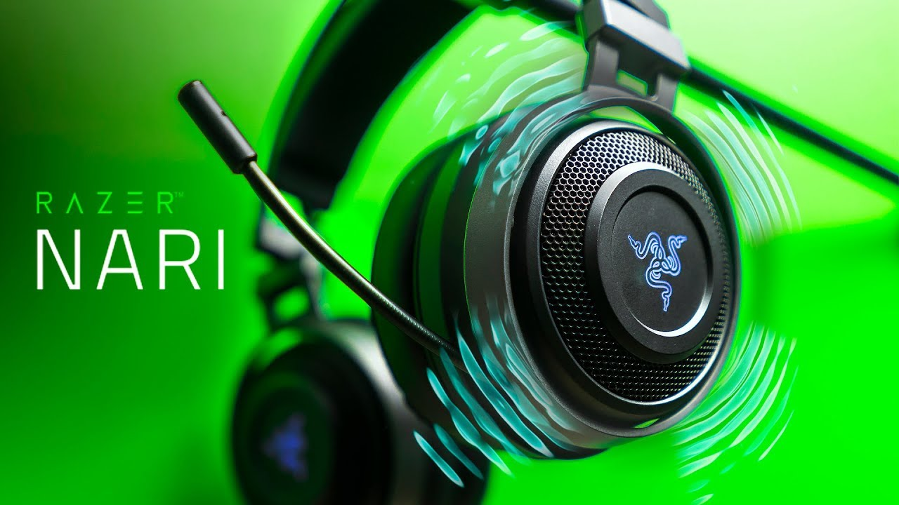 This Headset VIBRATES! Razer Nari Ultimate Gaming Headset