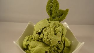 Green Tea Chocolate Chip Ice Cream- with yoyomax12