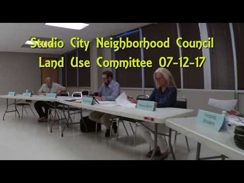 SCNC Land Use Committee 07 12 17
