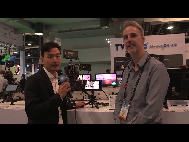 TVLogic: #NABShow Video Entèvyou