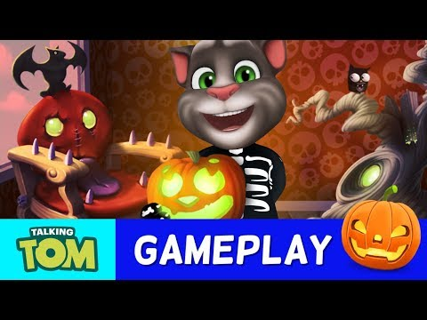 🎃 Talking Tom's Spooktacular HALLOWEEN 🎃 (NEW GAME UPDATES)