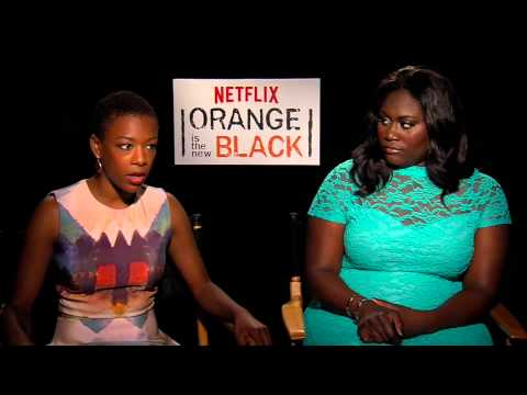Orange is the New Black's Samira Wiley and Danielle Brooks   AfterEllen