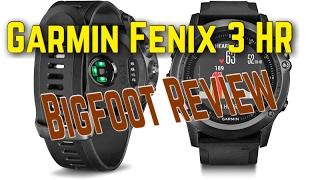 Garmin Fenix 3 HR Review