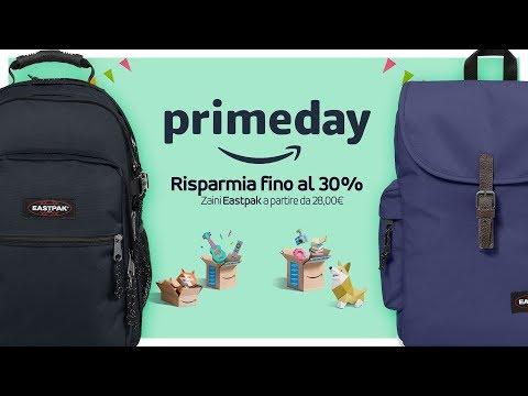 negozio online 64957 55957 Amazon Prime Day: gli zaini Eastpak - YouTube