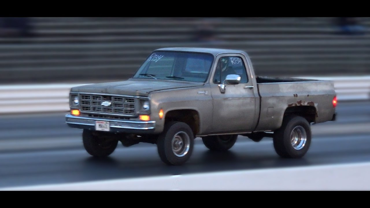 Chevy Truck Drag Racing