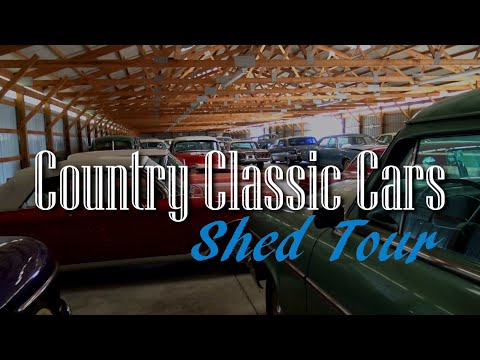 Shed Tour - Country Classic Cars - Hot Rods And Classics
