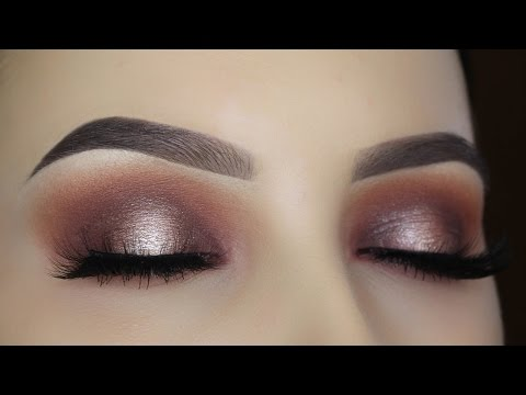 Warm Halo Eye Makeup Tutorial