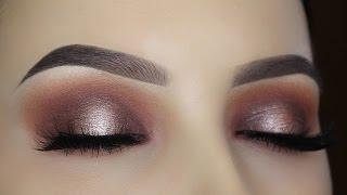 Warm Halo Eye Makeup Tutorial