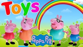 PEPPA PIG TOY EPISODES ★ PLAY DOH VIDEOS Peppa Dough Playsets