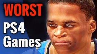10 Worst PS4 Games