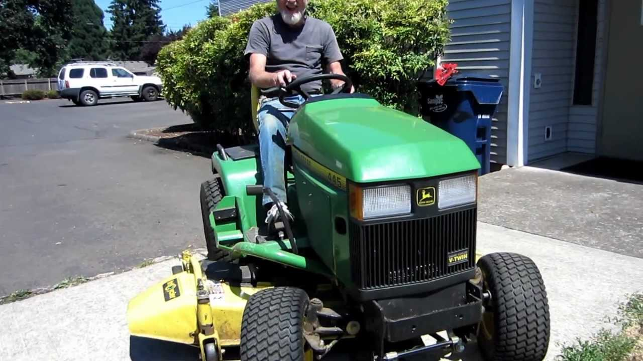 Weed Eater To Tractor