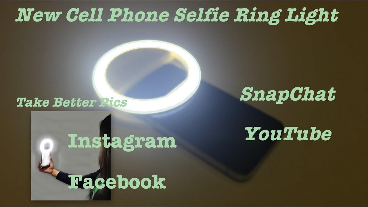 Ring Light For Cell Phones