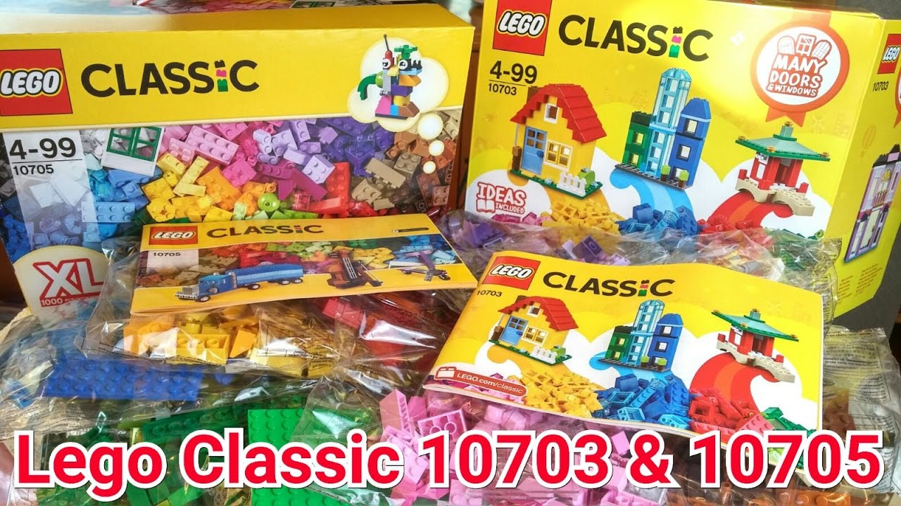 LEGO Classic Creative Builder Box (10703) - Toy Unboxing - YouTube