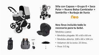 Cochecito de Bebe 3 en 1 Go Baby Neo