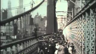 Tarzan jumps from Brooklyn Bridge