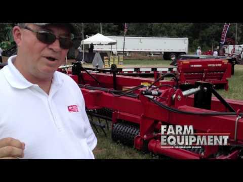 Brillion 36' Folding Seeder At 2012 Wisconsin Farm Technology Days