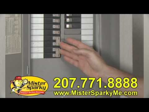 Mister Sparky - Electrical Wiring Safety Tips - Portland Maine - Electrician