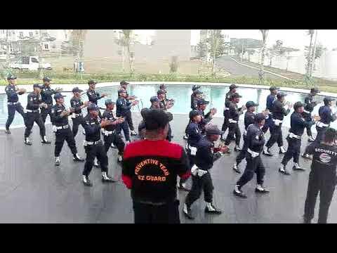 Yel yel Security ABK Jakarta Garden City