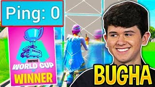 12 Minutes of BUGHA *FASTEST* EDITING and BUILDING SPEED! (World Cup Champion)