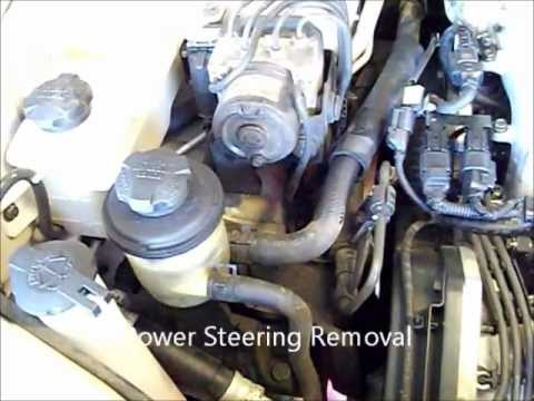 2004 hyundai santafe 35l timing belt tear down part 1 - YouTube