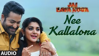 Nee Kallalona Full Song || Jai Lava Kusa Songs || Jr Ntr, Rashi Khanna, Nivetha || Devi Sri Prasad