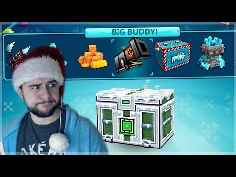 THE HUNT FOR THE BIG BUDDY! CHRISTMAS SUPER CHEST OPENINGS! | Pixel Gun 3D