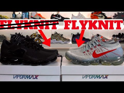 WHAT IS THE DIFFERENCE? NIKE AIR VAPORMAX vs. OG FLYKNIT COMPARISON REVIEW