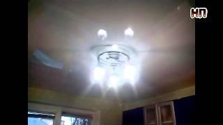 Белый глянцевый потолок на кухне(, 2015-12-11T21:42:18.000Z)