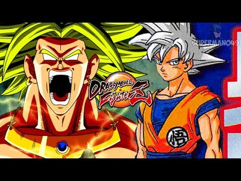 Dragon Ball FighterZ: Broly & Bardock DLC First Look! Dragon Ball Super Mastered Ultra Instinct Goku