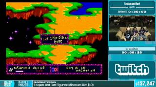 Toejam and Earl by peaches in 20:53 - Summer Games Done Quick 2015 - Part 30
