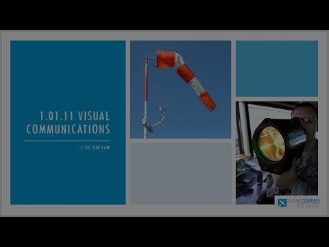 1.01 Airlaw. Part 05 - Visual communications