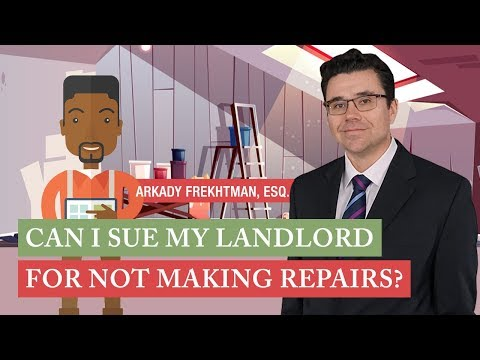 Can I Sue My Landlord For Not Making Repairs ? - YouTube