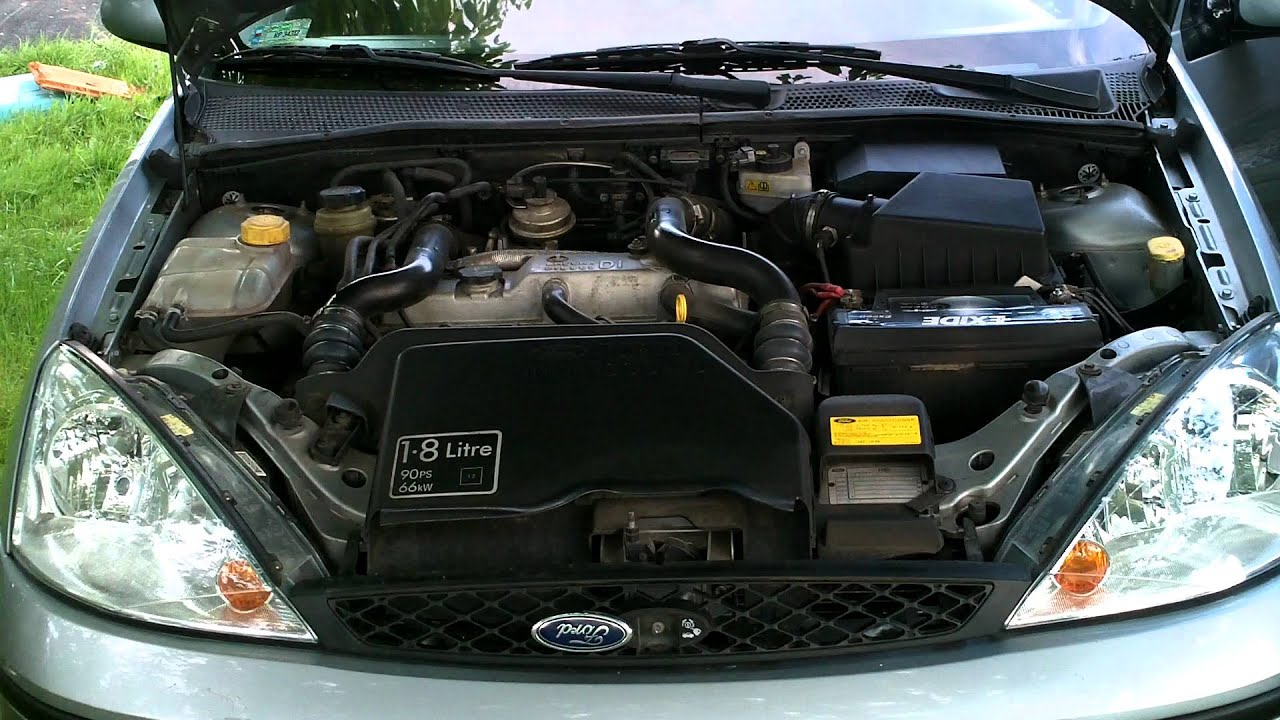 Kia Ceed Engine >> My 2003 Ford Focus MK1 1.8 TDDi engine sound - YouTube