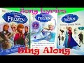 Disney Frozen The Essential Collection Sing Along Lyrics & Sticker Book Collection Toy Review, DK