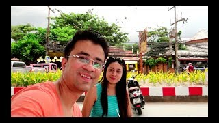 Thailand Vlog- First Day in Phuket - India to Phuket Vlog in Hindi (Patong Beach, Bangla Road)