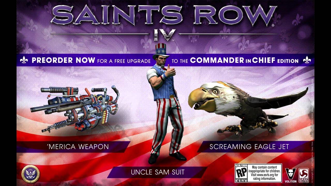 Saints Row 4 Presidential DLC - YouTube