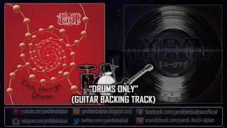 yda sang penghibur drums only guitar backing track padi cover