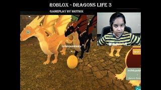 Roblox - draghi vita 3 gameplay di Hrithik