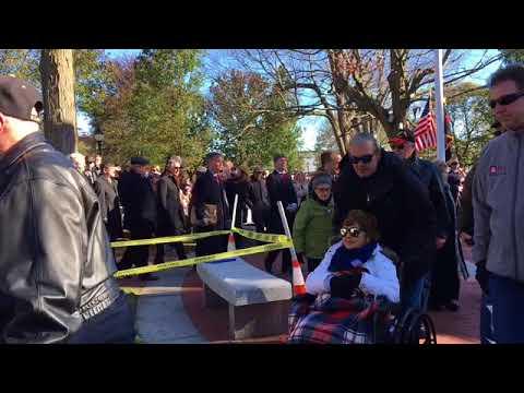 Veterans Day, 2017, Waltham, Massachusetts