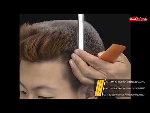 Hướng dẫn cắt tóc bằng kéo theo phong cách nhật bản