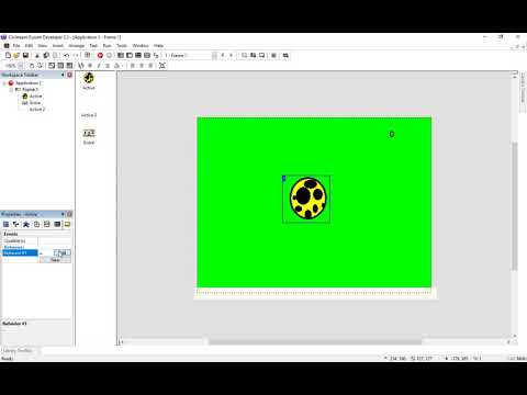 How Build A Football Keepy Uppy Game In Multimedia Fusion 2.5 Part 2