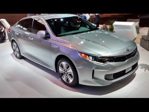 All New Kia Optima 2017 Exterior Interior