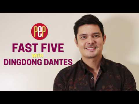 What is the best thing about being Dingdong Dantes? - FAST FIVE - 동영상