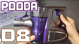 Pooda d8 Wireless Vacuum Cleaner Cheap & Powerful Review  4K