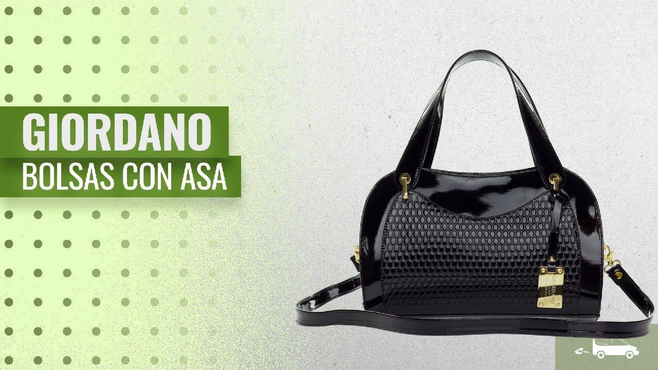 87e1179ccb 10 Mejores Giordano Bolsas Con Asa 2018  Giordano Italian Made Black ...