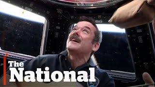 Chris Hadfield and Barenaked Ladies Record Song