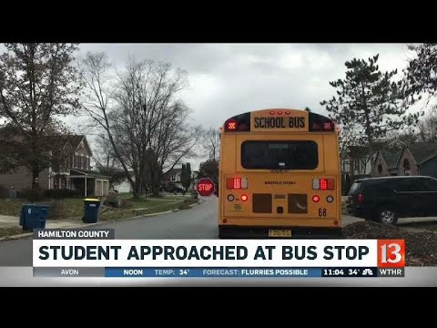 Hamilton County boy approached at the bus stop