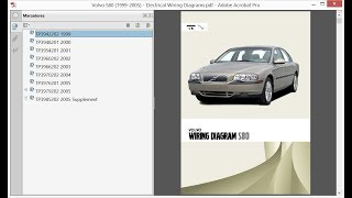 Volvo S80 (1999-2005) - Electrical Wiring Diagrams - YouTube | Volvo S80 Wiring Diagram |  | YouTube