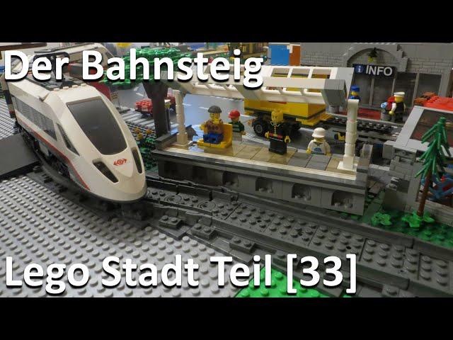 Lego Stadt Teil [33] - Der Bahnsteig